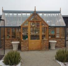 Geniales Gartenhaus