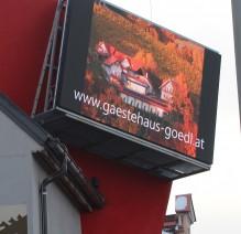 LED-Tafel-Werbung