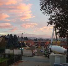 Bauen in Morgenrot